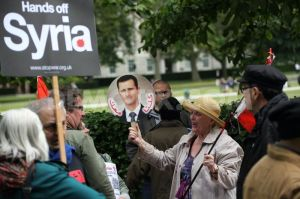 Hands off Syria, Love to Assad