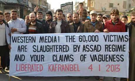 The Syrians know the Media isn't divided into Mainstream or Alternative. Until evidence is all that matters, they will hold the high moral ground.