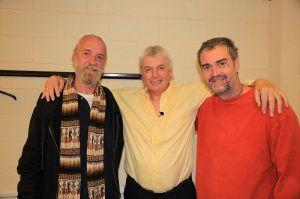Ken O'Keefe with other characters of this story, Max Igan and David Icke