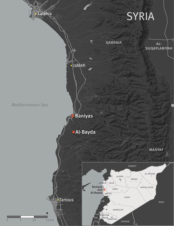 map banyas