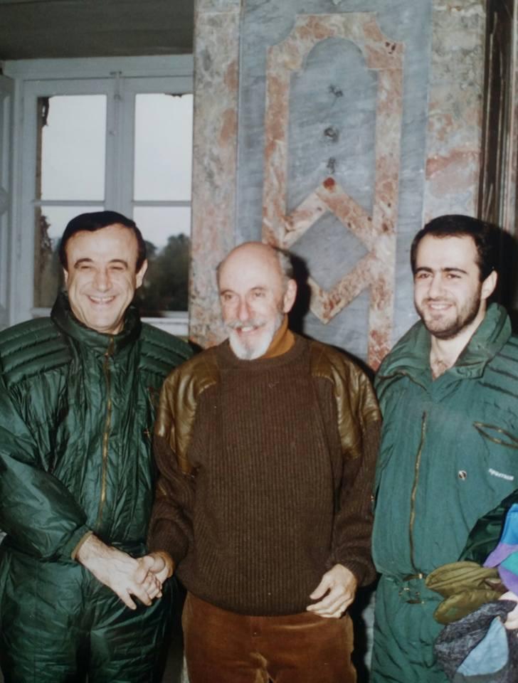 firas al assad + father